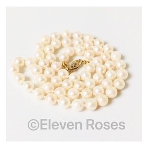 Jewelry - 14k Gold Pearl Strand Necklace